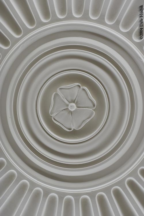 government house edmonton (detail of ceiling)