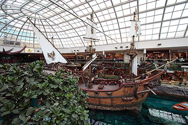 Replica of the Santa Maria in West Edmonton Mall