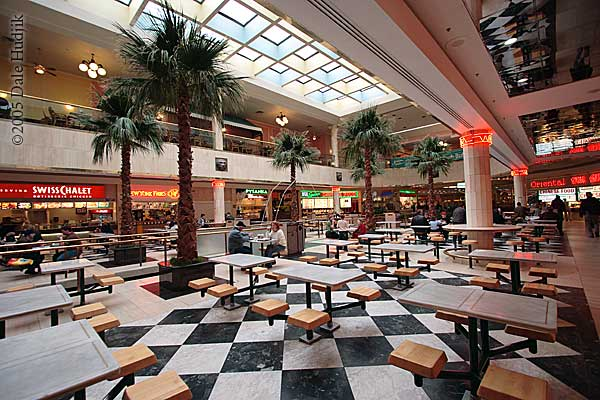 Food Court and West Edmonton Mall