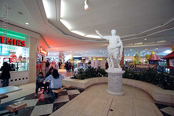 Roman Statue in West Edmonton Mall