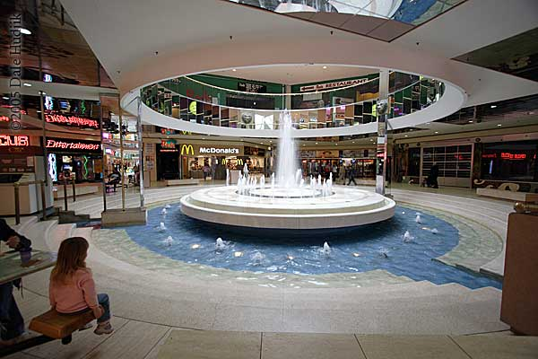 Water Fountain in West Edmonton Mall