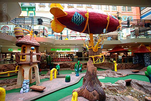 Miniature Golf at West Edmonton Mall