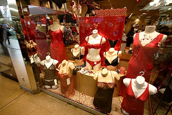 Lingerie at a Store in West Edmonton Mall