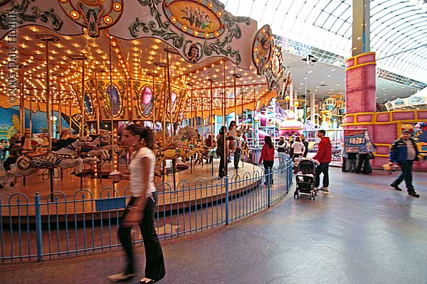 Merry-Go-Round at West Edmonton Mall