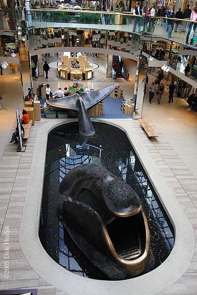 The Whale at West Edmonton Mall