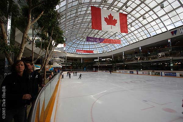 Skating Rink at West Edmonton Mall